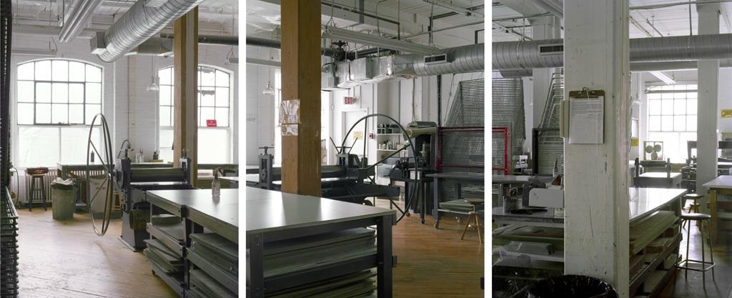 Open Studio Intaglio Area