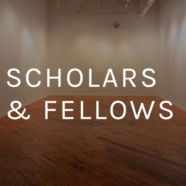 scholars & fellows