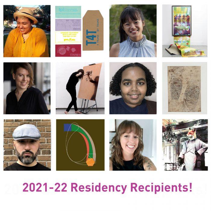 2021-22 Residency Recipients